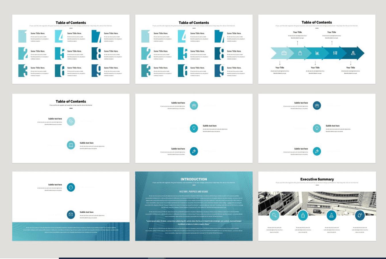 infographic business plan template