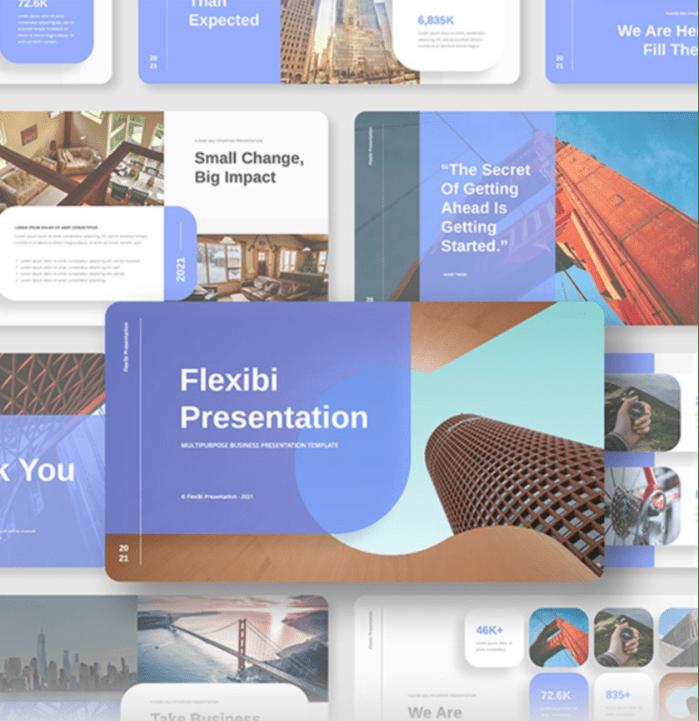 Flexibi PowerPoint template